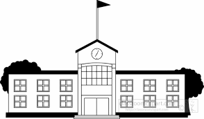 Free School Building Clipart Black And White, Download Free Clip Art, Free Clip  Art on Clipart Library