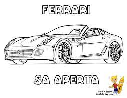 Dessin De Coloriage Ferrari Imprimer Cp11457