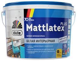 Купить <b>Краска</b> латексная <b>Dufa Mattlatex</b> Plus для детской матовая ...