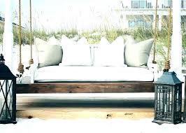 outdoor hanging daybed australia with pillows plans swing patio day beds decorating magnificent hangin