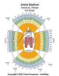 Aloha Stadium Seating Chart Concert Aloha Stadium Map Seating Aloha Stadium Tickets 2019 09 04