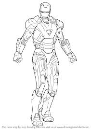 With excitement building over avengers: How To Draw Iron Man Drawingtutorials101 Com Iron Man Drawing Man Sketch Iron Man