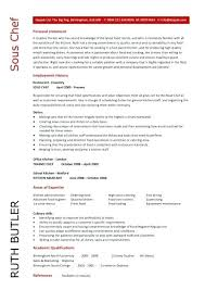 Resume Examples For Cooks Best of Assistant Chef Resume Example Sous Sample Resumes Letsdeliverco