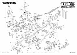 Traxxas 4 Tec 2 0 Gearing Chart Trx 4 Scale And Trail Crawler 82056 4 Chassis Assembly