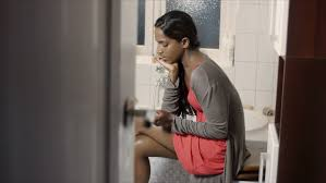 Indian Woman With Pregnancy Test In Bathroom, Getting Bad News Stock  Footage Video 1287739 | Shutterstock