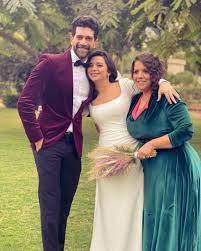 الفنان احمد حاتم وزوجته
