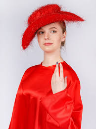 <b>Шляпа карнавальная Gala-Вальс люрекс</b>, красный — купить в ...