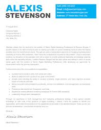 Creative Cover Letter Template Cover Letter Template Creative Creative Cover Letter