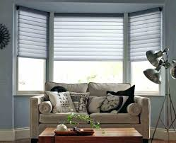 grey bamboo blinds friendly natural bamboo blinds installed in the bay  windows living room bay windows
