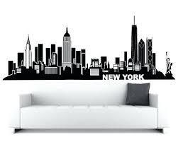 new york wall art buy new new city skyline vinyl wall with new wall decal decor new york wall art  on new york city skyline wall art with new york wall art new skyline art print city skyline canvas prints