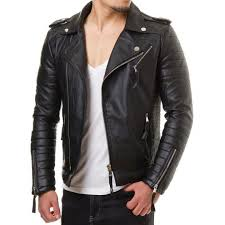 new arrival men real lambskin motorcycle premium quality leather biker jacket 81