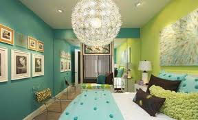 Lime Green and Turquoise Room Ideas