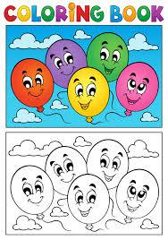 coloring book vector set 04