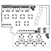 restaurant table layout templates restaurant floor plan templates