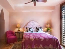 Polka Dot Bedroom Eclectic Guest Bedroom With Hardwood Floors Ceiling Fan Zillow