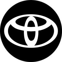 toyota logo white png. circular toyota decal sticker 07 logo white png