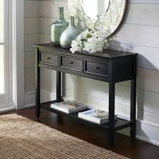 long black console table Black Console Table to Complete and Give