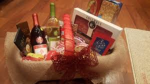 gift basket salami cheese spread ers almonds zoet chocolate bars