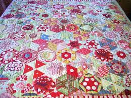 Hexagon Quilts Patterns – co-nnect.me & ... Candied Hexagons From Lizzie Broderie Something To Strive For Patchwork Quilt  Patterns Free Hexagon Hexagon Patchwork ... Adamdwight.com