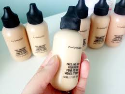 mua kit mac face and body foundation review