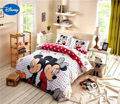 disney bedding sets for s mickey mouse comforter bedding set queen size cartoon print duvet cover