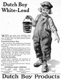 an ad for dutch boy white lead paint featured in the june 28 1919 issue of country gentleman