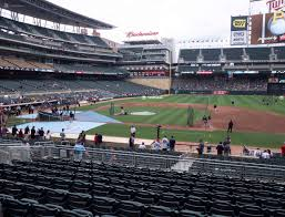 Twins Stadium Seating Chart Target Field Section 108 Seat Views Seatgeek