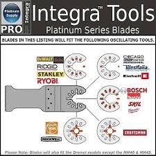 Fastcut Tool Chart U004 50pk Fast Cut Wood Plastic Multi Tool Blades Fits