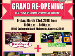 Grand Opening Flyer Extraordinary Mar 48 Kids R Kids Crabapple Under New Ownership Grand
