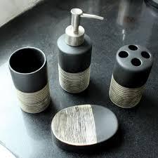 Best Bath Decor bathroom kit : Bathroom Accessories Kit Banheiro Banyo Aksesuarlari Chocolate ...