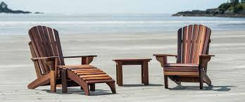 adirondack chairs on beach. Adirondack Cedar Furniture On Beach Chairs S