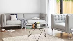 modern leather grey oned sofa uk