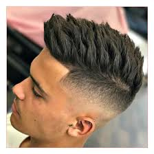 Spiky Hair Style haircut style for mens with high skin fade textured spiky hair 7407 by wearticles.com