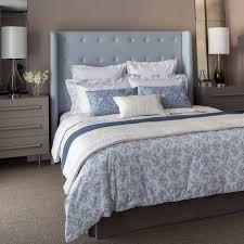 lantilly sky blue blossom bedding at bedeck