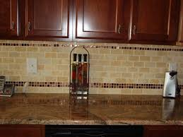 Glass Tile Kitchen Backsplash Designs Interesting Decoration