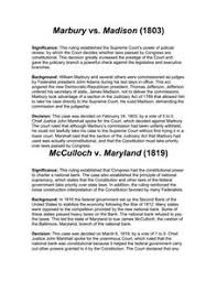 marbury vs madison th th grade worksheet lesson planet marbury vs madison worksheet
