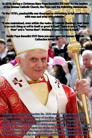 Joseph Ratzinger rapevictimsofthecatholicchurch