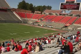Carter Finley Seating Chart Carter Finley Stadium Section 6 Rateyourseats Com