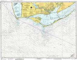 Apalachicola Bay To Cape San Blas 1980