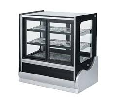 vollrath 40887 cubed glass countertop refrigerated display cabinet