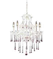 antique white chandelier elk once 5 light inch antique white chandelier ceiling light in rose crystal