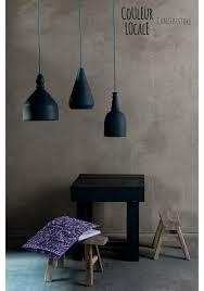 black ceramic pendant lamp