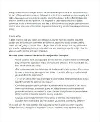 Example Of Admission Essays University Admission Essays Examples How To Write The Best College