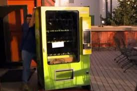 Drug Vending Machine Stunning Colorado Marijuana Vending Machines Are A World First After State