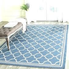 4 x 10 runner rug 4 x runner sophisticated 4 x rug blue beige trellis indoor