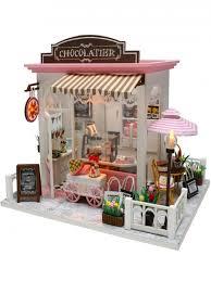 <b>Сборная модель</b> Mini House Шоколадница <b>DIY house</b> 13657674 в ...