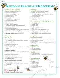 list of items needed for baby newborn essentials checklist save money with just the baby basics