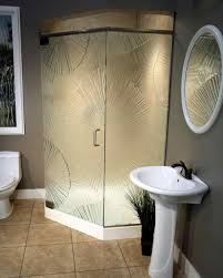 design easy cleaning stalls for small bathrooms image of corner stalls  unique shower enclosures for small