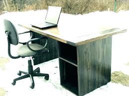 computer desk rustic with hutch corner image of diy