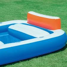 inflatable pool furniture. dual pool family inflatable walmartcom furniture